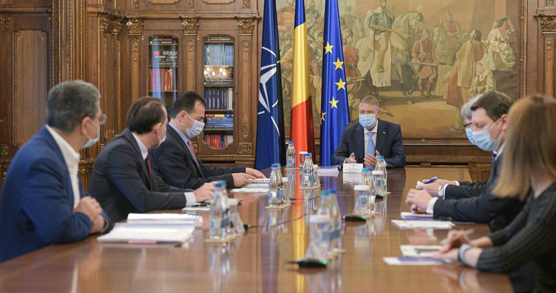 Klaus Iohannis: Planul Național de Redresare și Reziliență va fi prezentat public săptămâna viitoare