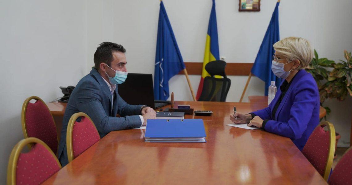 Vizita viceprim-ministrului la Primăria Tălmaciu